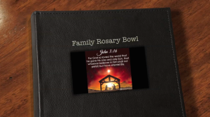 Family Rosary Bowl